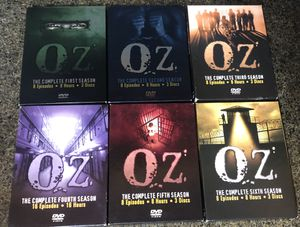 . OZ The Complete Series (DVD,2018,,Seasons 1-6) for Sale in Tamarac, FL