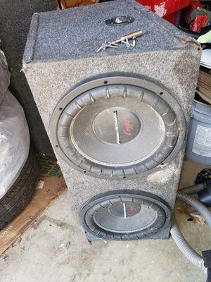 Power acoustik 12s for Sale in Florissant, MO