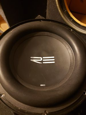 """RE SC 10"""" Subwoofer. 1 coil working. for Sale in HUNTINGTN BCH, CA"""