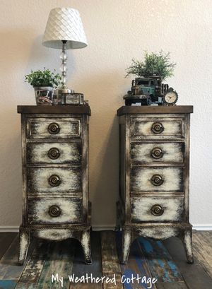 VINTAGE REPURPOSED NIGHT STANDS/END TABLES for Sale in Austin, TX