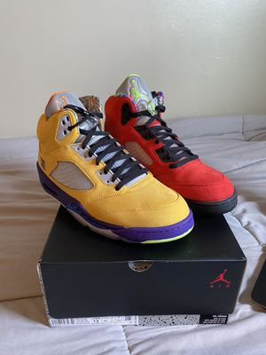 Jordan 5 What The for Sale in Laurel, MD