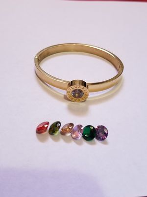 Changeable stones bracelet for Sale in Kent, WA