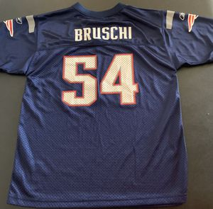 Tedy Bruschi New England Patriots NFL Reebok Jersey - Kids Youth Size XL (18/20) for Sale in Katy, TX