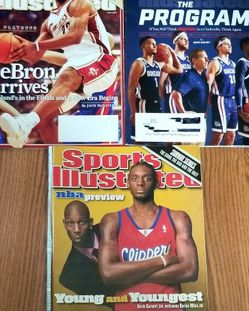 Three Sports Illustrated Basketball Issues for Sale in Olympia,  WA