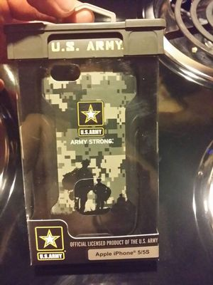 Army Case for Apple iphone 5/5S for Sale in Reidsville, NC