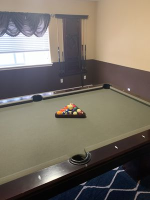 Pool table , top quality , originally $5000, today only $400. Moving sale for Sale in King City, OR