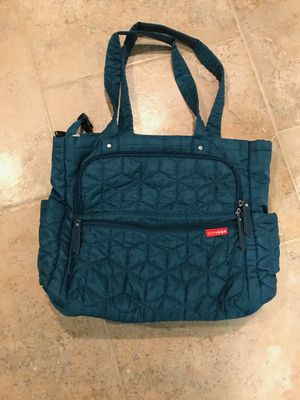 skip hop diaper bag with changing pads for Sale in Denver, CO