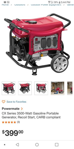 Brand new never used generator for Sale in Wichita, KS