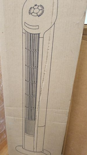 "Seville Classics Ultraslimline 40"" Oscillating Tilt Tower Fan, for Sale in Long Beach, CA"