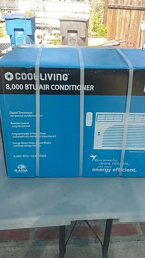 Cool-Living 8,000 BTW Air Conditioner for Sale in Riverside, CA