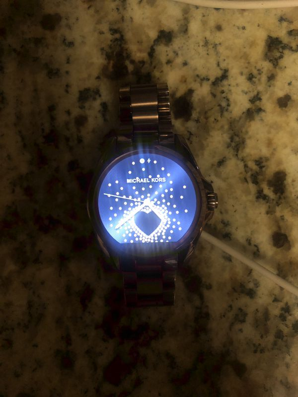Micheal Kors smart watch sable color