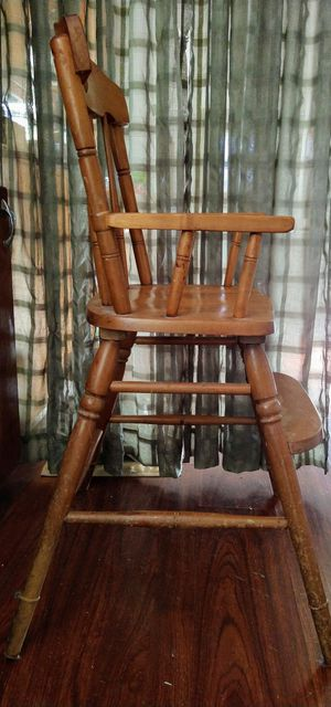 Antique baby high chair for Sale in Kaleva, MI