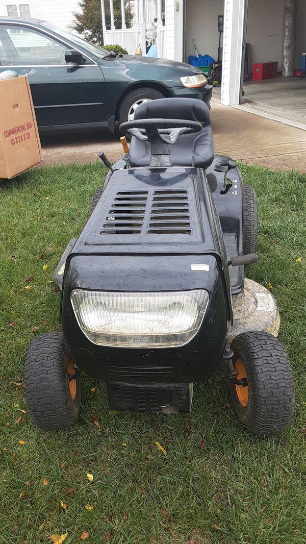Grass tractor machine 6 speed