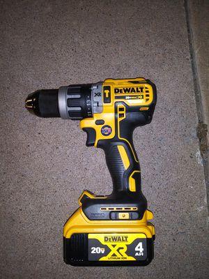 DeWalt 20v brushless hammer drill & 4Ah battery for Sale in Norman, OK
