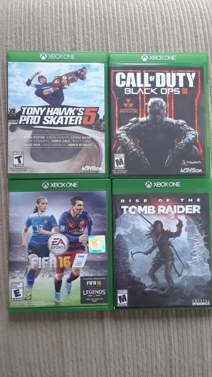 Assorted Xbox One games for Sale in Danville, PA