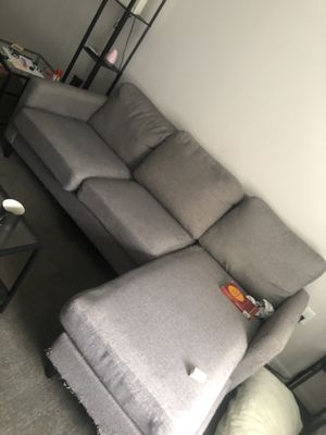 Grey sectional couch for Sale in Arlington, VA