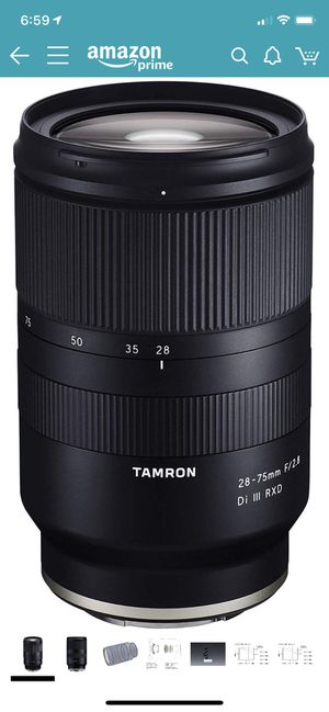 Tamron 28-75mm F/2.8 Sony FE lens *MINT* 🔥 for Sale in Dallas, TX
