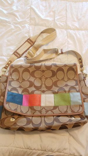 Used Coach Diaper Bag for Sale in Clearwater, FL
