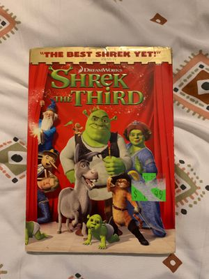 Shrek the Third DVD for Sale in Rialto, CA