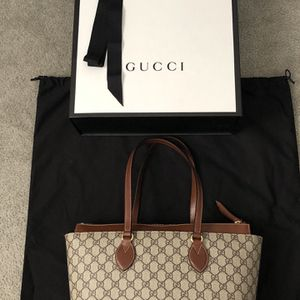 Authentic Gucci GG Supreme Tote Bag for Sale in Warminster, PA