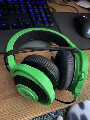 Razer Kraken gaming headset for Sale in Milford, MA