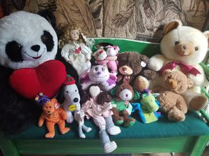 Collection of stuffed animals & toys for Sale in Providence, RI