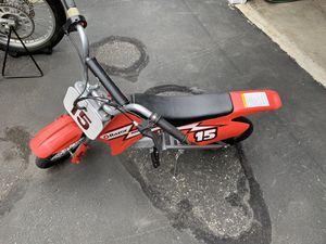 Razor MX400 electric motor cross bike for Sale in Woodinville, WA