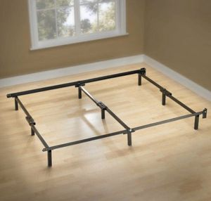 Zinus Michelle Compack 9-Leg Support Bed Frame, for Box Spring and Mattress Set, Q for Sale in Fresno, CA