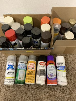 FREE variety of spray paints and glosses for Sale in Yucaipa, CA