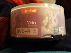 Dvd+r blank cds video photos data for Sale in Indianapolis, IN