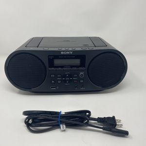 Sony Bluetooth Portable Cd Player Stereo Sound System Bundle/Digital Tuner AM/FM Radio Cd Player Mega Bass Reflex Stereo Sound System for Sale in Hacienda Heights, CA