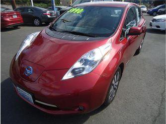 2013 Nissan Leaf Sl Hatchback 4D for Sale in Everett,  WA
