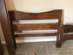 Bed with foam mattress twin 10 inch for Sale in Hilliard, OH
