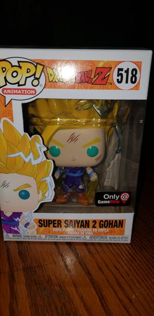 Dragon ball z pop gohan exclusive😎🔥 for Sale in Austin, TX