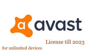 Avast antivirus with license till 2023 for Sale in Irving, TX