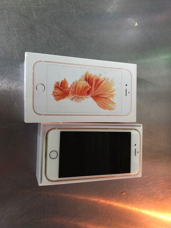 iPhone 6s 32g unlocked gold