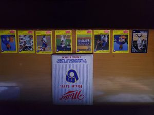 1991 commemorative brewers card book and ball. Plus bo jackson and lou gehrig's MVP card from 86. for Sale in Rhinelander, WI