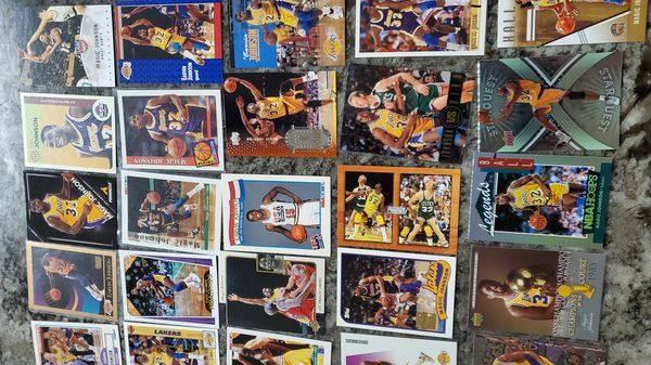 Lot of 40 Magic Johnson LA LAKERS CARDS all for $30
