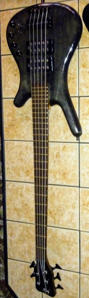 2008 Warwick Corvette SS Bass guitar 5 string Double Buck Pups (please read description) for Sale in Las Vegas, NV
