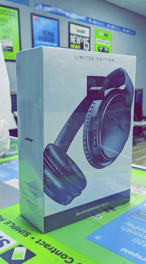 Bose - QuietComfort 35 II Wireless Noise Cancelling Headphones! Brand New in Box! for Sale in Arlington, TX