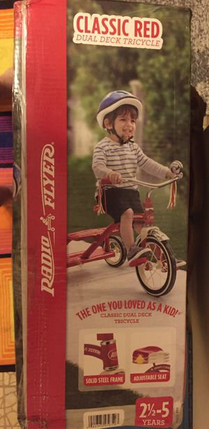 TRICYCLE. TODDLER. NEW for Sale in Hudson, FL