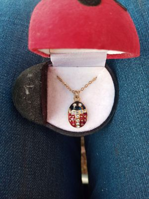 Ladybug Necklace for Sale in Harrisonburg, VA