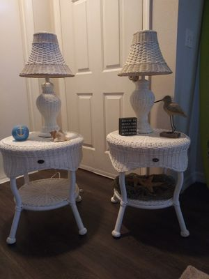 Hampton Bay Rattan Resin Wicker Set for Sale in Melbourne, FL