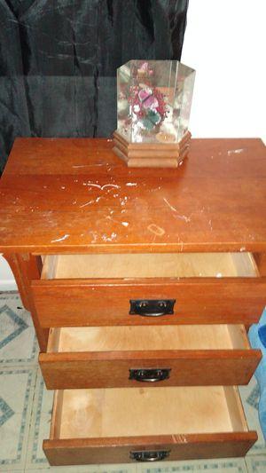 Wooden dresser/nightstand for Sale in Phoenix, AZ