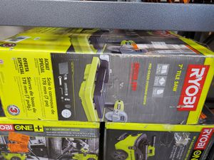 Ryobi wet tile saw USED 50$ for Sale in Fort Worth, TX