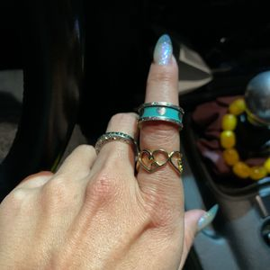 Tiffany and co Return to Love Blue Enamel Ring Size 6/6.5 for Sale in Temple City, CA