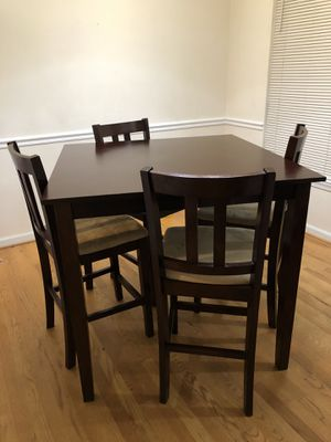 Dining high table for Sale in North Bethesda, MD