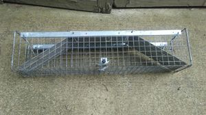 31x7x7 Catch & Release Animal Trap for Sale in Wautoma, WI