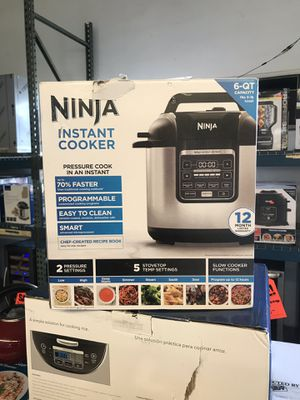 NEW Ninja 6 quart pressure cooker instant pot for Sale in Upland, CA