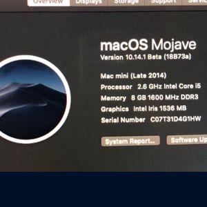 Mac Mini Late 2014 I5 8 GB Ram 1 TB HD for Sale in Queens, NY